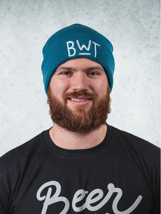 Zimní čapka - modrá