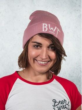 Zimní čapka - růžová