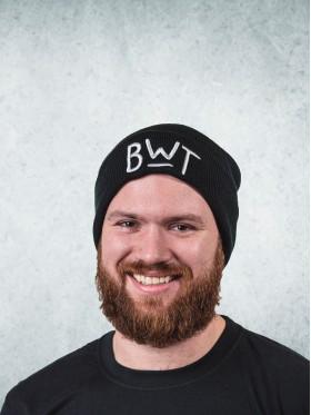 Zimní čapka - černá
