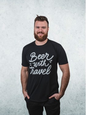 Beer With Travel - černo černá