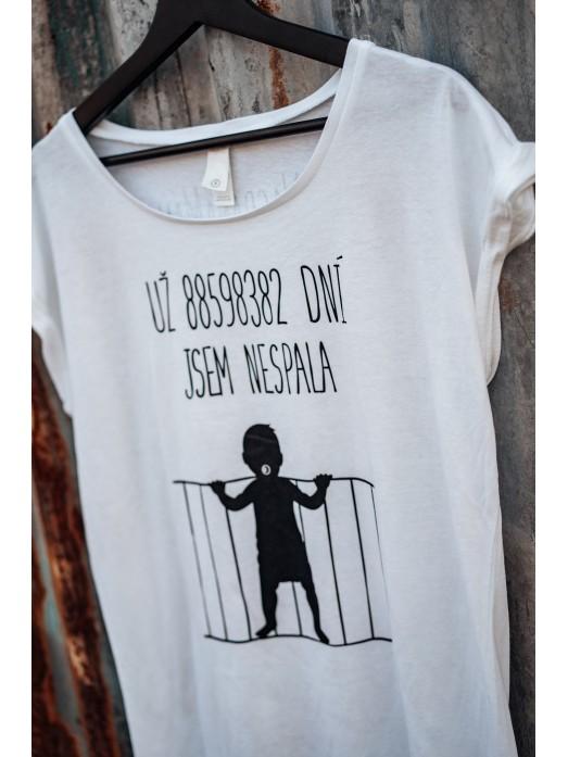 """Nasraná Máma tričko """"Spánková deprivace"""""""
